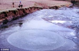 Same Jan 09 ice circle observed near Devon, UK